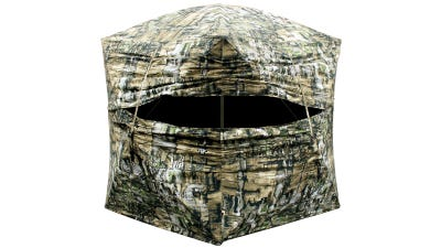 Primos Game Calls Double Bull Deluxe Go Ground Blind Camo