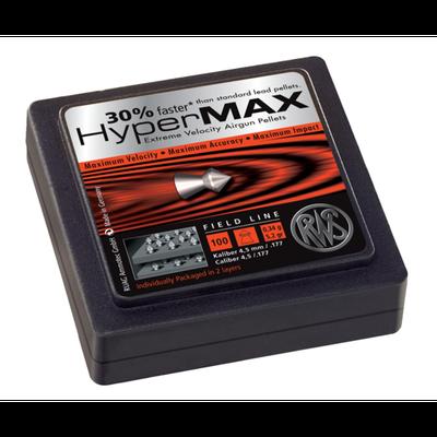 RWS Hypermax .177 Alloy Pellets 200 Rds per Tin