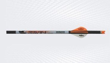 Ravin Crossbows Premium Crossbow Bolts Orange / Black 400 gr .001 6 Pack