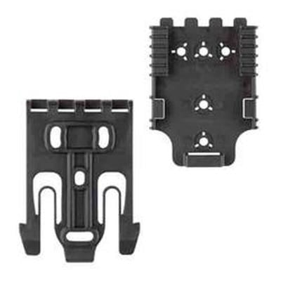 Safariland Quick Locking System Kit 1 with Duty Locking Fork and Receiver Plate