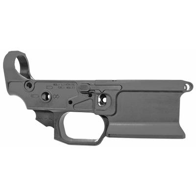 Sharps Bros Livewire Stripped Lower for AR-15 with Threaded Bolt Catch Pin