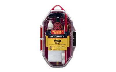 Shooters Choice 9MM Pistol Gun Cleaning Kit