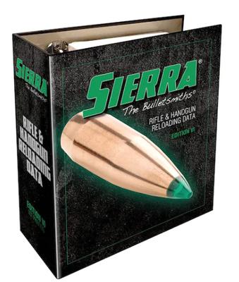 Sierra 6th Edition Reloading Manual