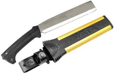 "Silky NATA Double-Edge Hatchet - 10"" Plain Blade"