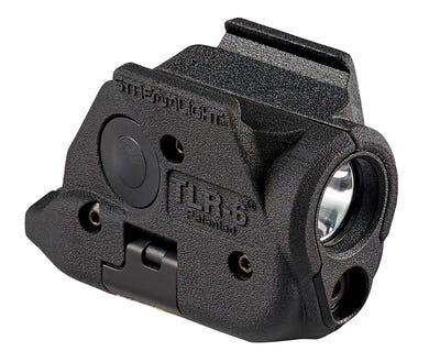 Streamlight TLR-6 Weapon Light w/Laser Red Laser Polymer 100 Lumens for Springfield XD / Hellcat