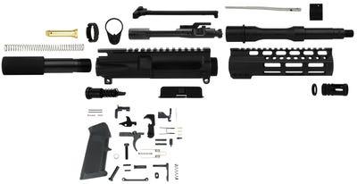 "TacFire PST Built Kit with LPK Black .223 Wylde 7.5"" Barrel"