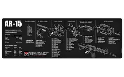TekMat Armorer's Bench TekMat AR-15 Schematic Mat
