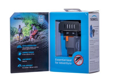 Thermacell Backpacker Mosquito Repellent Red 15' Odorless