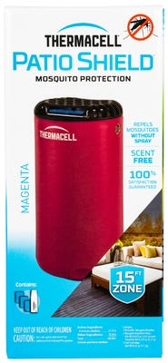 Thermacell Patio Shield Mosquito Repeller Red 15'