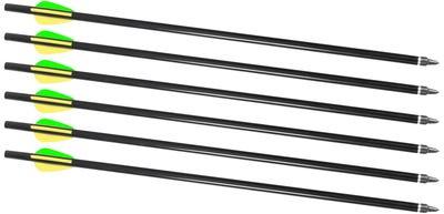"""Traditions Firebolt 2216 Arrows 16"""" Aluminum 6 Count"""
