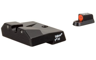 Trijicon HD Night Sight Set Fits CZ P10/P10C Tritium Orange