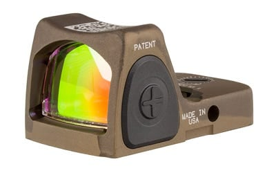 Trijicon RMR Type 2 Adjustable LED Sight 3.25 MOA Red Dot No Mount Hard Anodized Coyote Brown HRS