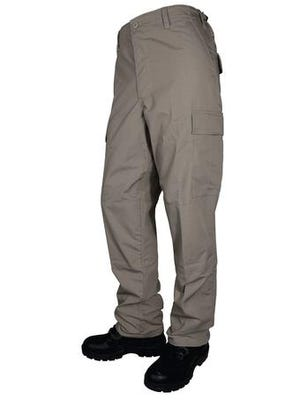 Tru-Spec BDU Basic Pants Khaki Polyester Cotton Small
