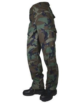 Tru-Spec BDU Basic Pants Woodland Polyester Cotton Large