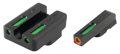 Truglo TFX Pro Night Sights Green with Orange Ring Front / Green Rear for CZ 75