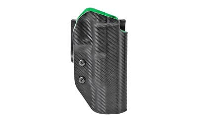 Uncle Mikes Range/Competition Right Hand OWB Holster for Canik 9 Black / Green