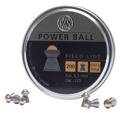 Umarex Power Ball Steel .177 200 Per Tin
