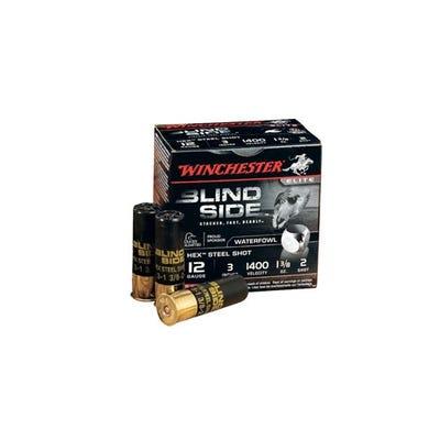 """Winchester Blindside 12 GA 25-Rounds 3"""" Hex Shot"""