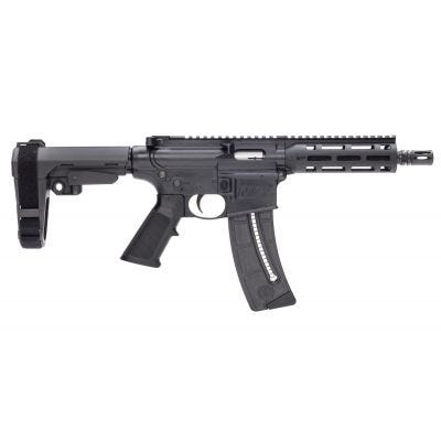 """Smith and Wesson M&P15-22 Pistol .22 LR 8"""" Barrel 25-Rounds"""