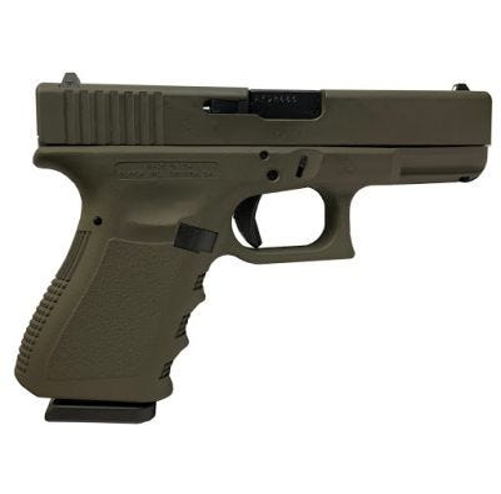 """Glock 19 Gen 3 OD Green 9mm 4.1"""" Barrel 15-Rounds"""