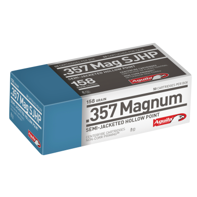Aguila Ammo .357MAG 158GR Semi-Jacketed Soft Point 50rds