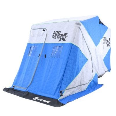 Clam X200 Pro Thermal Shelter Blue / Gray 2-Angler