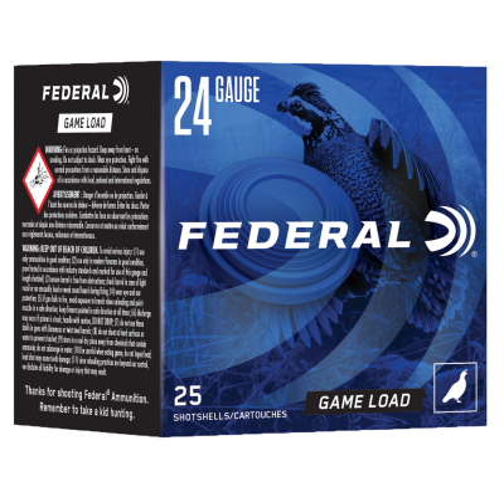 "Federal Game-Shok 20 GA 8-Shot 25-Rounds 2.5"""
