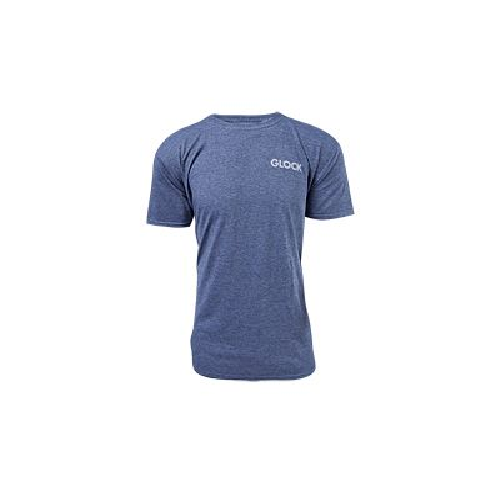Glock OEM Pistol Flag T-Shirt Navy Blue Extra Large