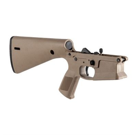 KE Arms KP-15 Complete Lower Receiver FDE Mil-Spec