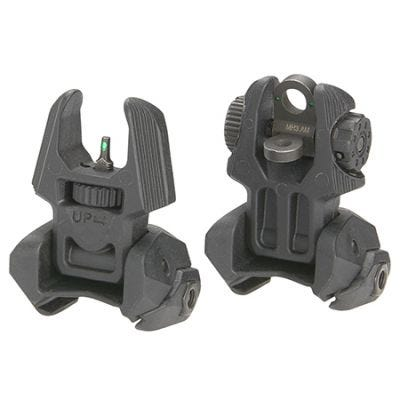Mako Front and Rear Sights with Tritium Dots
