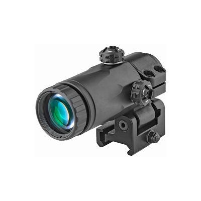 Meprolight MX3-T Magnifier with Integrated Tactical Side Flip Adapter 3X