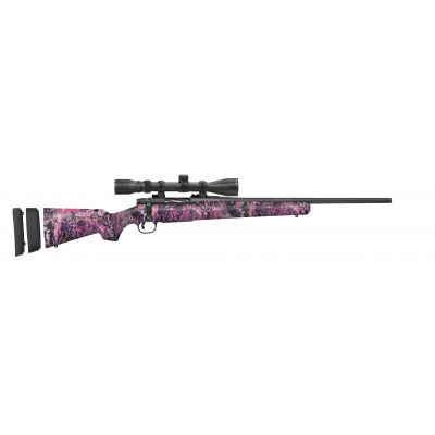 """Mossberg Patriot Super Bantam Combo Muddy Girl .243 Win 20"""" Barrel 5-Rounds with 3-9x40mm Scope"""
