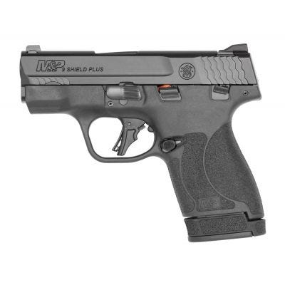 """Smith and Wesson M&P9 Shield Plus 9mm 3.1"""" Barrel 13-Rounds Manual Thumb Safety"""