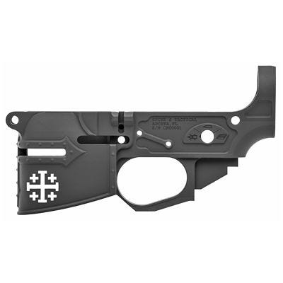 Spikes Tactical Rare Breed Crusader Stripped AR-15 Lower Receiver