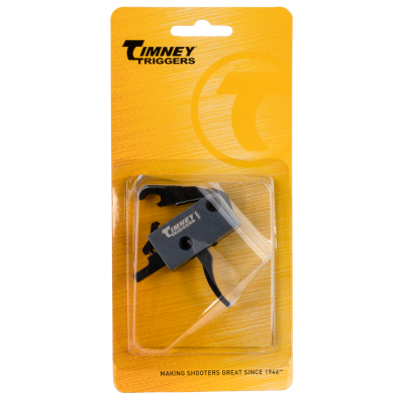 Timney Triggers Impact Trigger Black Finish Fits AR15 3lb Break Drop-in