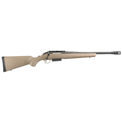 "Ruger American Ranch Flat Dark Earth .450 BM 16.12"" Barrel 3-Rounds"