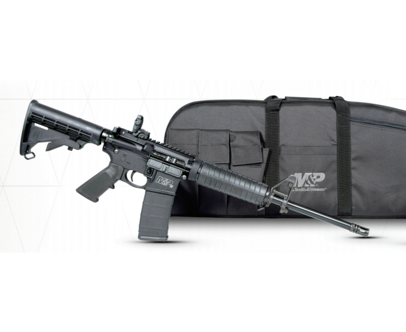 Smith and Wesson M&P15 Sport II Promo Pack Black  223 / 5 56 NATO 16-inch  with Case