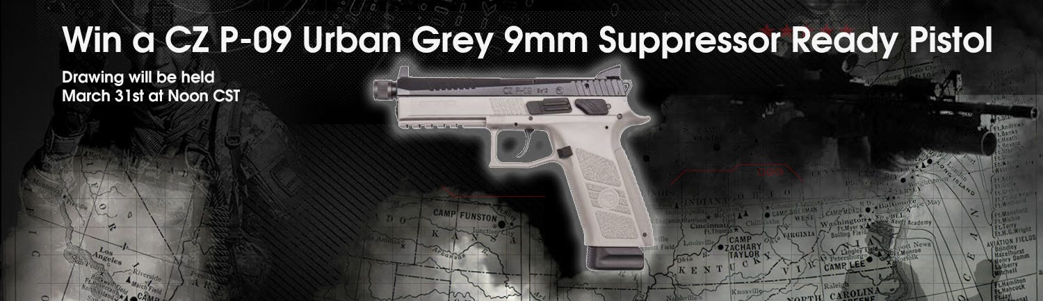GrabAGun Monthly Giveaway - Win a CZ P-09