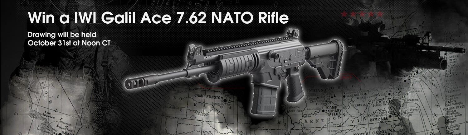 GrabAGun Monthly Giveaway - Win an IWI Galil Rifle