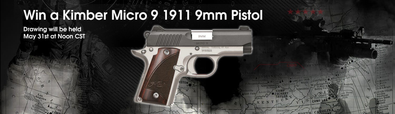 GrabAGun Monthly Giveaway - Win a Kimber Micro 9