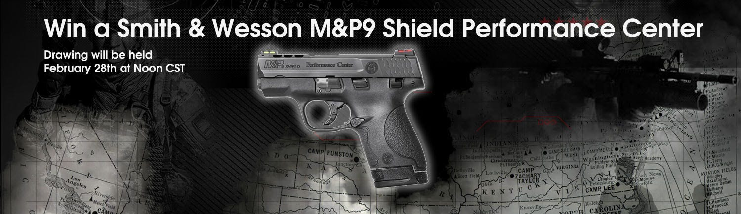 GrabAGun Monthly Giveaway - Win a Smith & Wesson M&P Shield