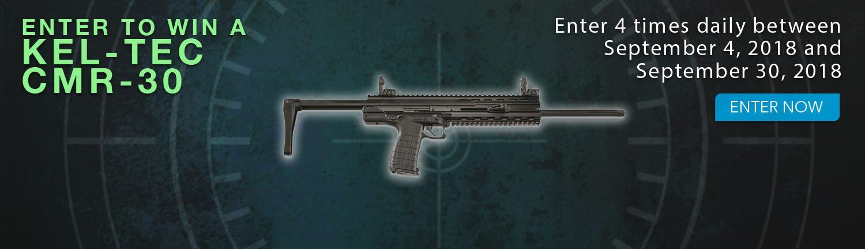 GrabAGun Monthly Giveaway - Win a Kel-Tec CMR-30 Rifle